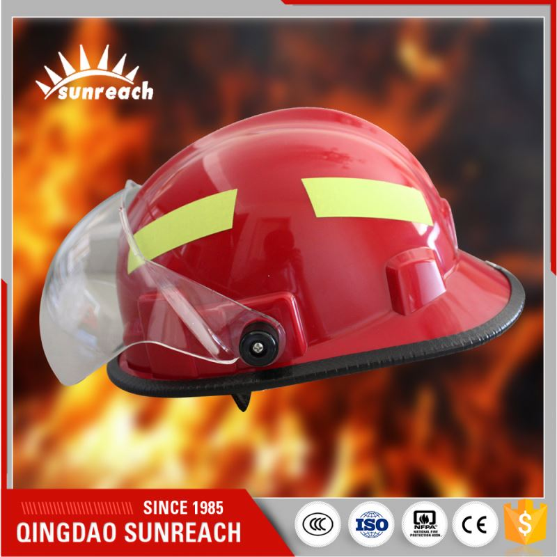 Used Cheap Fire Fighting Helmet