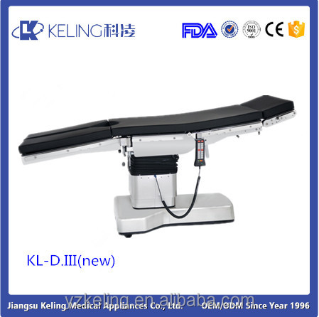 KL -D.III c arm compatible Multi-function electro hydraulic operating table price
