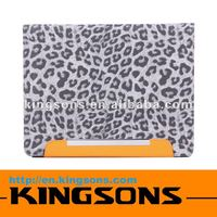 Newest fashion smart cover, leather case for ipad 2/3