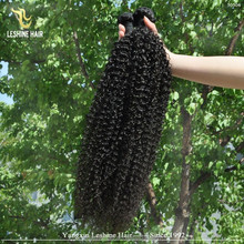 Best Price Big Stock Wholesale malaysian afro kinky curl/deep curly hair sew in hair weave