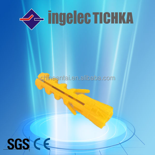 plastic anchor screw for africa ingelec
