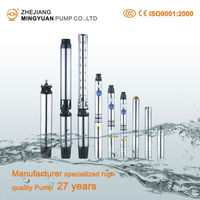 15 Hp Agriculture Irrigation Submersible Pumps Deep Well Submersible Pump 3 Inch