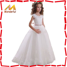 Girl Communion Party Prom Princess Pageant Bridesmaid Children Wedding Dress Flower Girl Dress