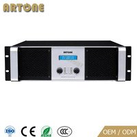 Pa 2000w professional sound system high power amplifier
