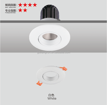 Aluminum Round Lamp Frame Recessed Ceiling Ring For MR16 GU10 Led Downlight