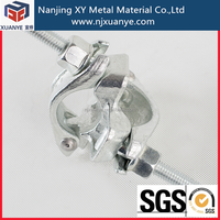 EN74 Scaffolding galvanized pipe connection clamp for construction