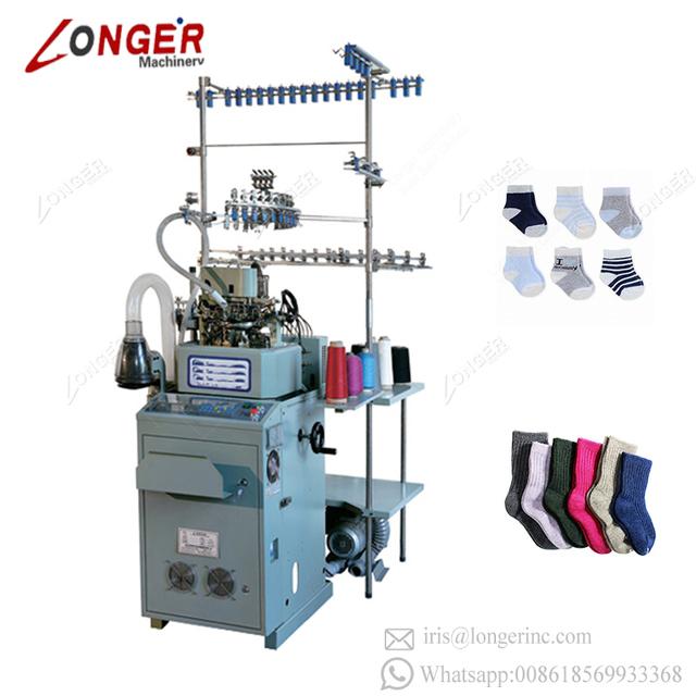 Full Automatic Small Computer Socks Printing Machine Korea Sock Knitting Machine For Sale