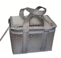 Fashion solar panel cooler bag for shopping and promotiom