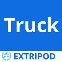 Extripod diesel transport medical waste truck Euro 3 10-60T Load