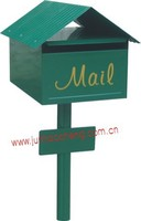 JHC-1049 Standing mail box/Outdoor newspaper metal mailbox/Traditional mailbox