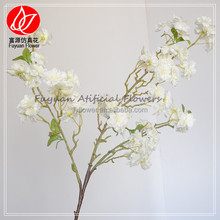 150674 factiory direct sale cherry blossom branch wedding decorative high end silk flowers