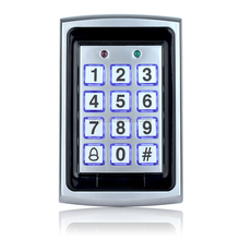 Metal Rfid Access Control Keypad Support 1000 Users 125KHz ID Card Reader Electric Digital Password door controller