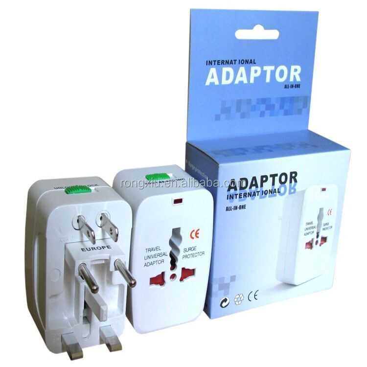wholesle Multifunction UK/US/EU/AU electrical plug sockets travel around the world travel plug