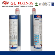 Chemical bolt concrete repair anchor reinforcing epoxy adhesive two part anchoring adhesive.