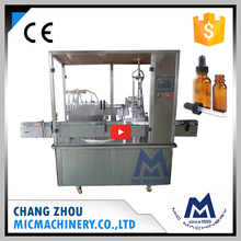 MIC-L40 factory price small bottle filling capping and labeling machine for 10ml e-liquid
