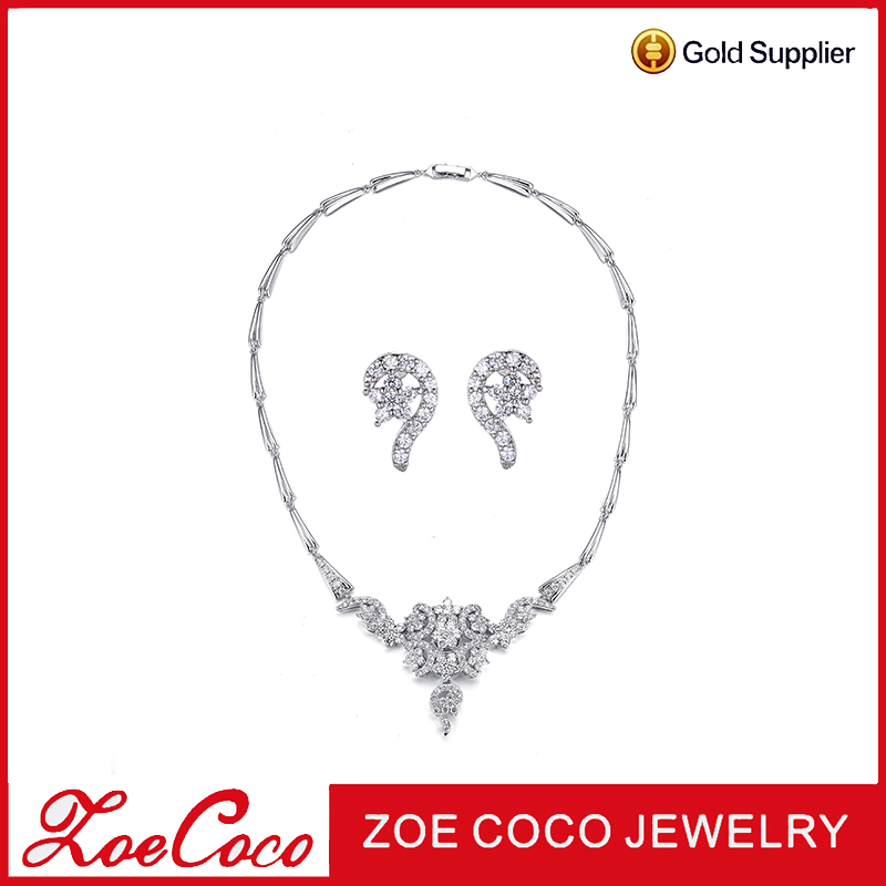 Wholesale fashion jewelry for ladies High Quality Elegant Jewelry Setfrom zoe coco