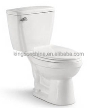 KZ431 wash down p trap side flush two-piece water closet