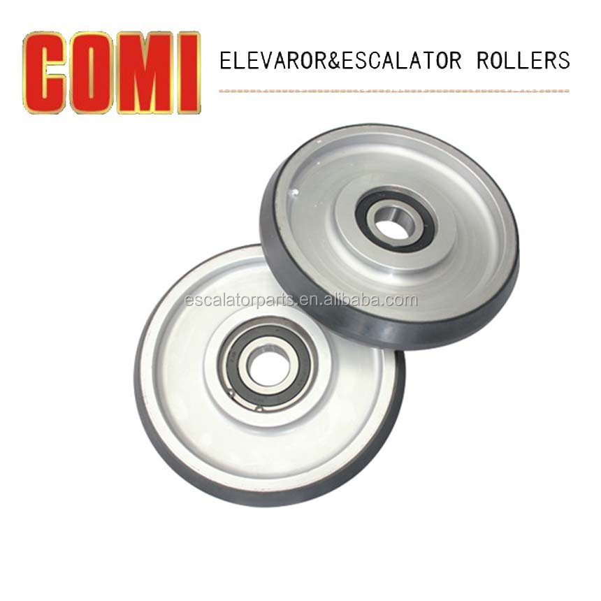 Alibaba elevator parts elevator high speed roller Iron guide roller D200*38*6306-RS for FUJITEC