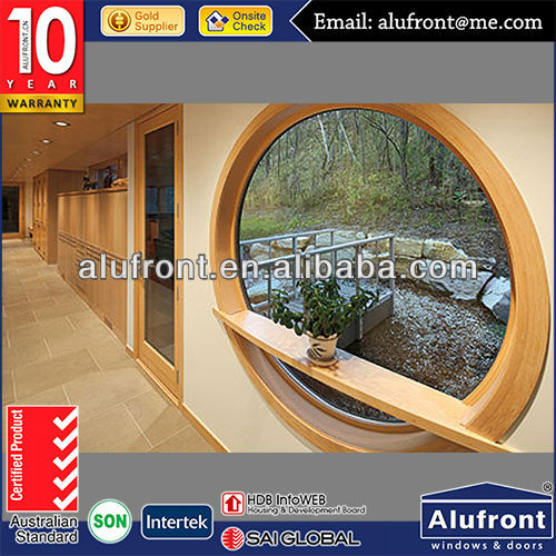 Top Quality Aluminum Clad Wood Round Window