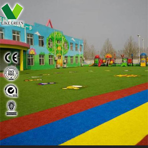 Uv Resistant Colored Artificial Grass Carpet