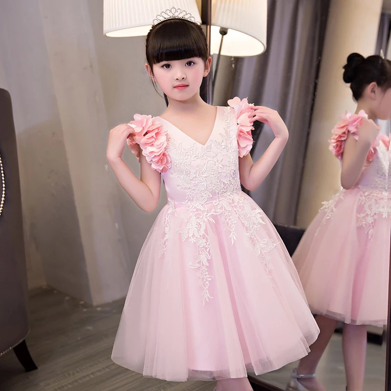 wholesale new summer kids dress frock cutting photos baby girl dress girls floral dresses from china