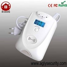 multi gas detector with solenoid valve and relay and exhuast fan and manipulator and little screen and battery as you like