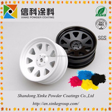 car rim spray paint coating