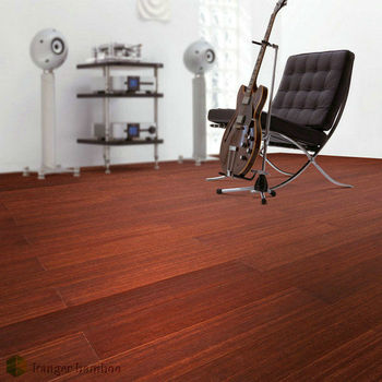 Cherry Wood Color DIY vertical of dry decoration bamboo for elegant home