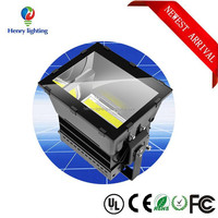 outdoor flood light new model ip65 water proof die cast 1000w XTE led flood light with rubber cable and tempered glass
