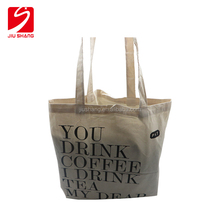 New Fancy Designer Soft Handled Foldable Cotton Shopping Tote Bag