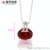 31974 xuping wholesale personalized white gold multi color artificial round gemstone pendant