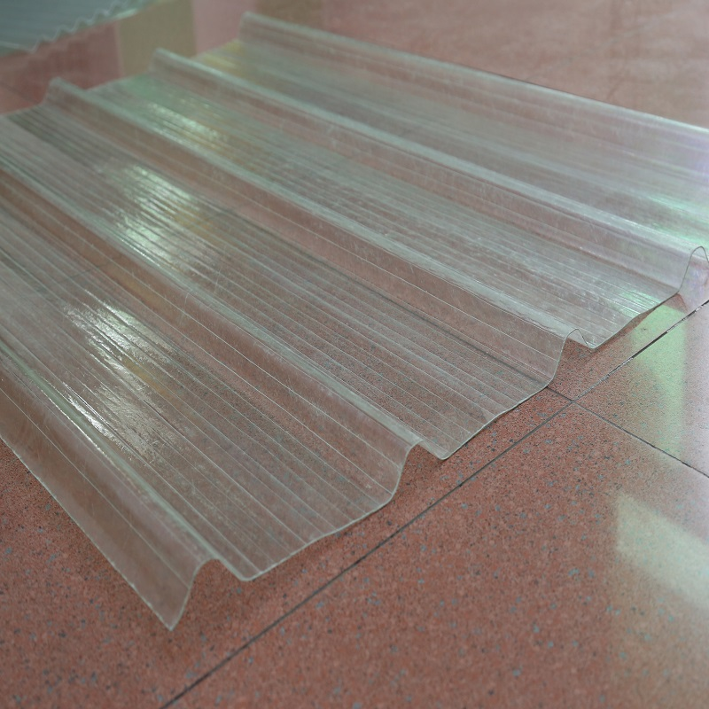 XINHAI corrugated color fireproof plastic pc roof