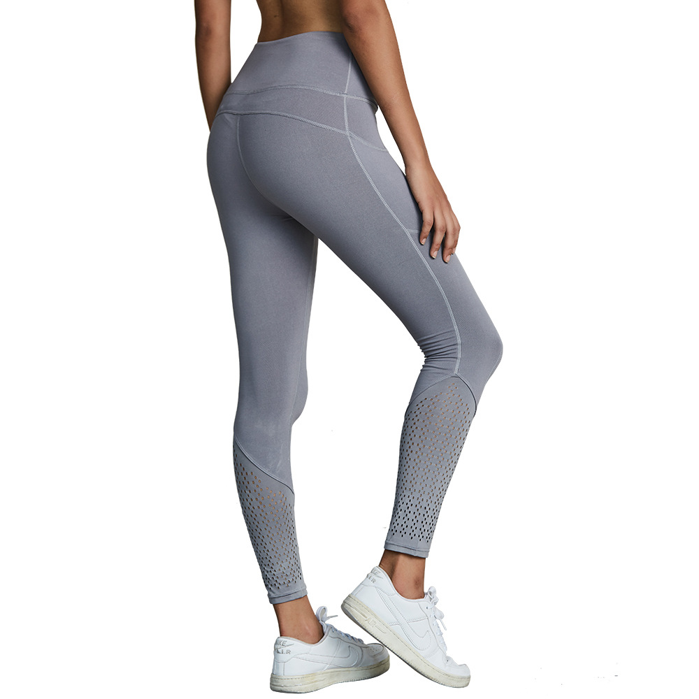 Women's fitness sports yoga pants High-elastic quick-drying slimming hips tights casual pants wholesale