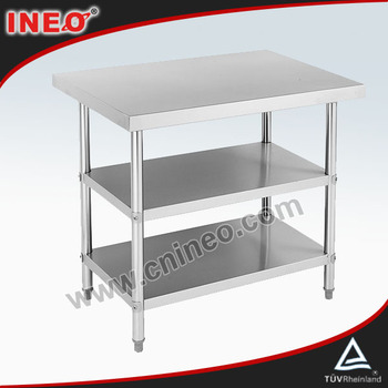 Commercial Restaurant Stainless Steel Worktable For Sale(INEO are professional on commercial kitchen project)
