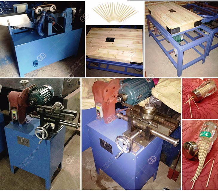 2017 Factory New Type Toothpick Processing Machine Wooden Bamboo Toothpick Making Machine