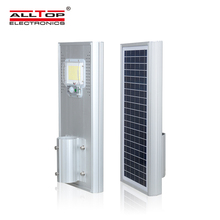 ALLTOP High brightness ip65 outdoor waterproof aluminum 60 120 180 <strong>w</strong> all in one solar led street light