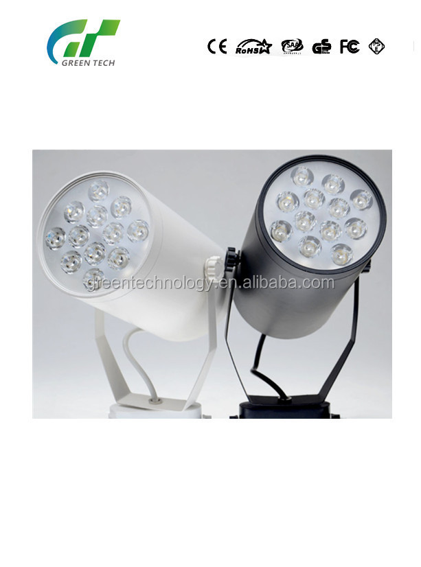 Best selling dimmable COB 30w led track light 4 wires