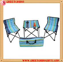 Folding Camping Picnic Portable Outdoor Garden Party BBQ Dining Coffee Kitchen Table +2 Foldable Chair