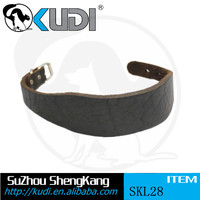 Cummerbund Decorate Dog Leather Collar SKL28