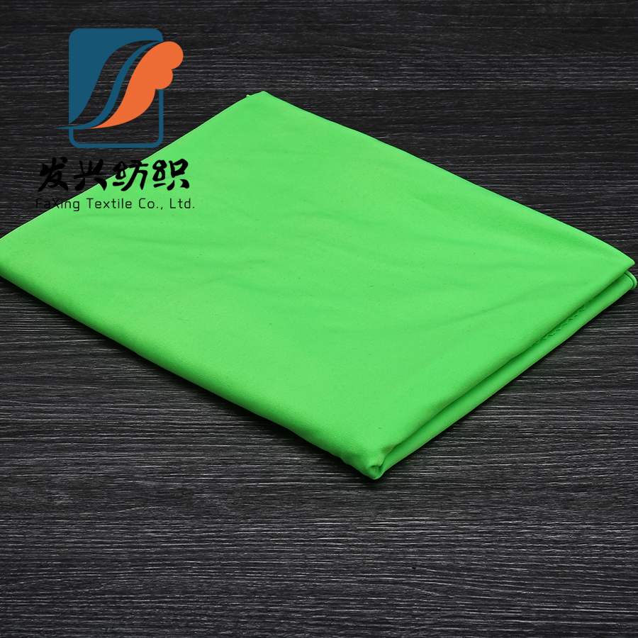 Spandex single jersey sports polyester knniting fabric