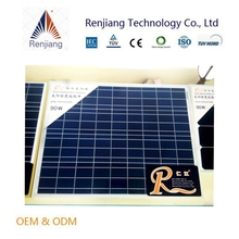 90 watt pv module poly solar panels 18v Voltage with high efficiency factory directly supply