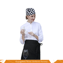 Comfortable cotton kitchen designer chef uniforms