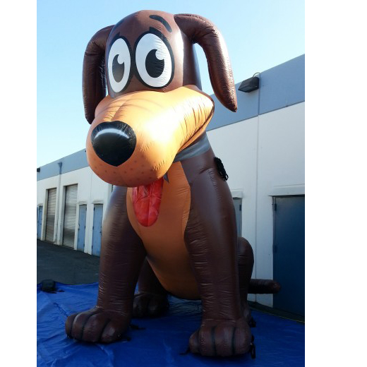 Advertising Inflatable Dog / Inflatable Moving Cartoon / Inflatable Advertising Figure