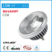 ar111 led 24 degree 12 voltsLED Spotlights AR111 G53 10W AC/DC 12V Hotels Use