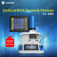 SUNSHINE Optical Alignment Hot Air Automatic Mobile Phone Bga Rework Station