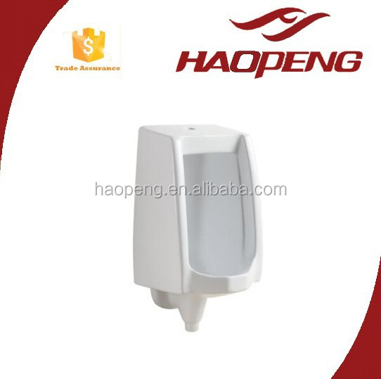 7017 Urinal Design Ceramic Cornor Custom Urinal Dimension With Top Inlet