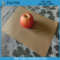 bleached coloured waxed paper sheet/high quality wax coated wrapping paper/waxed paper meat