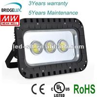 2012 NEW Bridgelux Chip and MEANWELL Driver IP65 60Degree High power outdoor led flood bulb 150w 10w-400w 100-277V CE/RoHS/UL