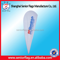 promotion flying teardrop banner flags printing