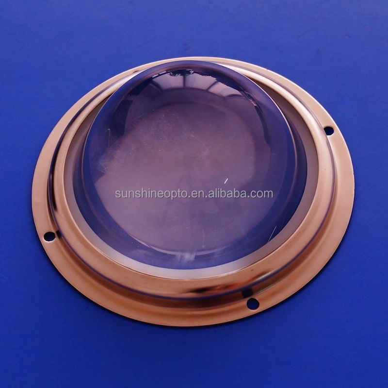 45degree 50W 100W COB Led glass lens